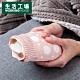 【生活工場】敦敦熊萌趣矽膠暖水袋-粉 product thumbnail 1