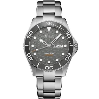 MIDO美度 Ocean Star 200C海洋之星 廣告款陶瓷圈潛水機械錶(M0424301108100)