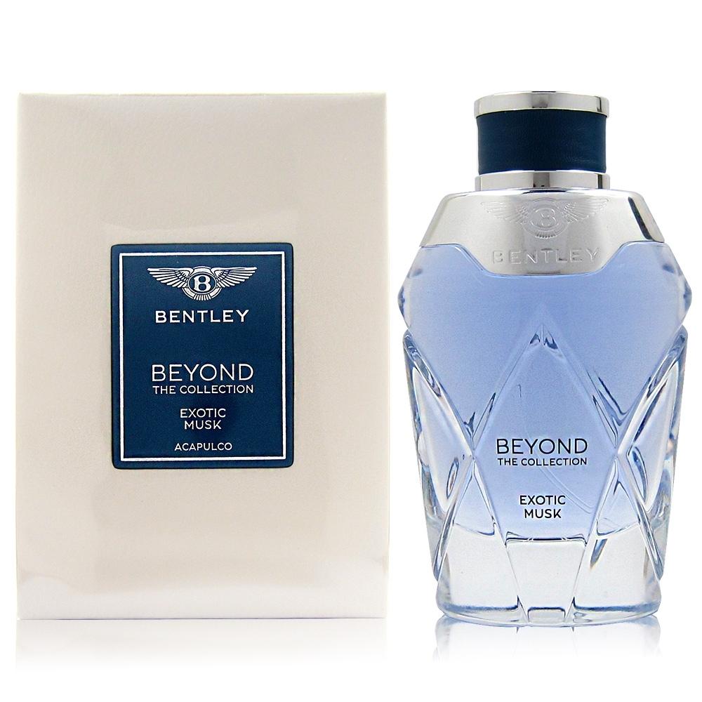 Bentley 賓利 Exotic Musk 淡香精100ml 贈針管蠟燭禮品組