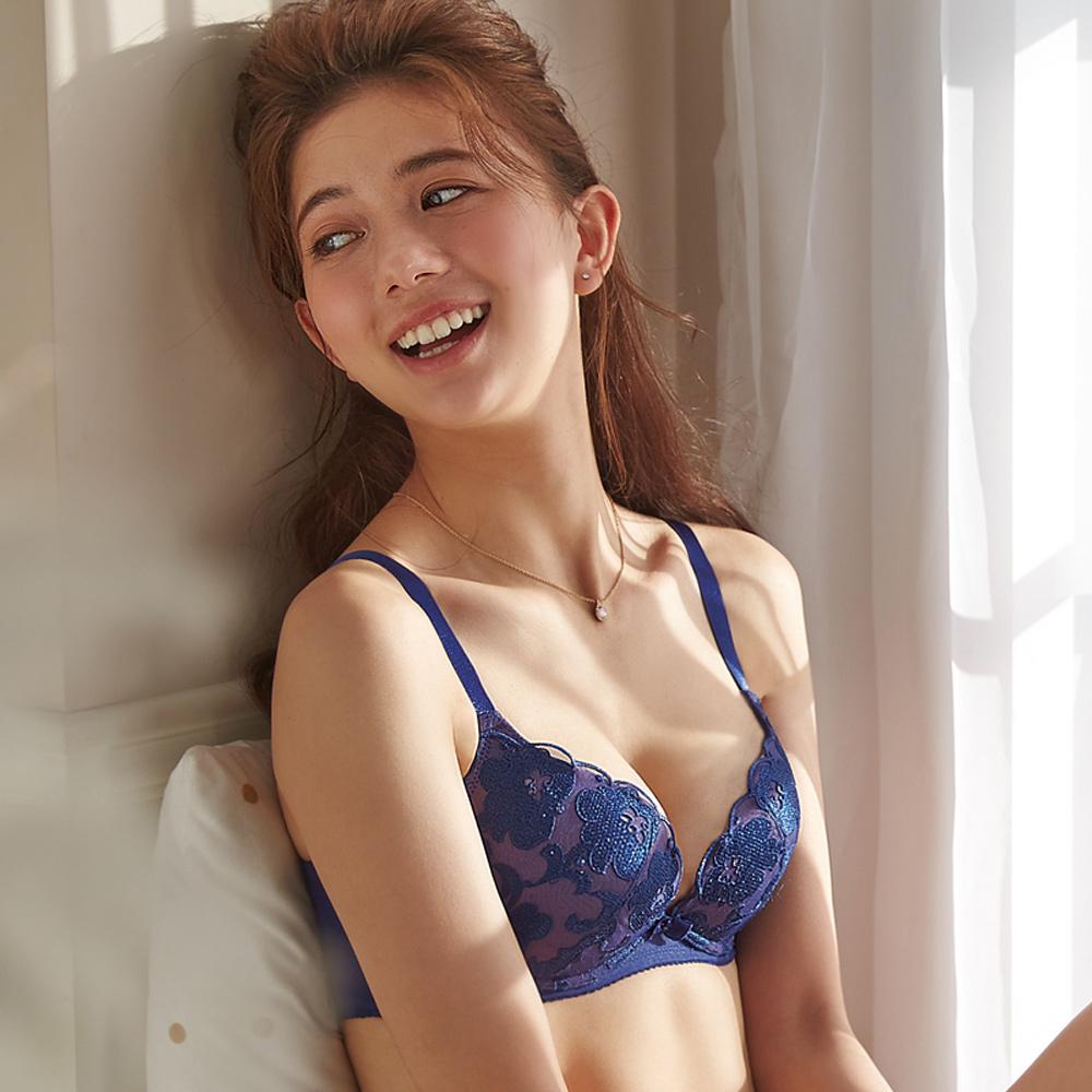 蕾黛絲-小麗露輕真水 B-C罩杯內衣 優雅藍莓