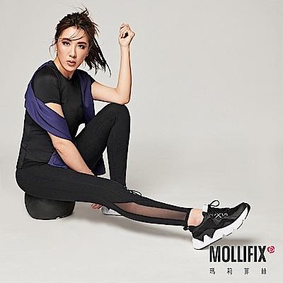 【小禎聯名設計】Mollifix 瑪莉菲絲 TRULY小尻長腿訓練褲 (黑)