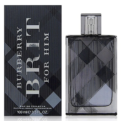 BURBERRY BRIT for Him 風格男性淡香水 100ml 新包裝