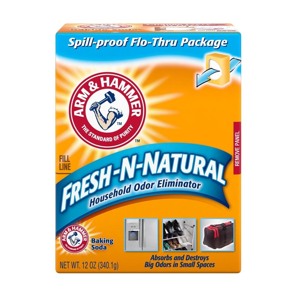 美國A&H 清潔用小蘇打粉-消臭盒(340.1g)