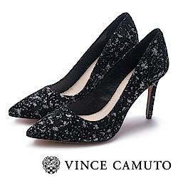 VINCE CAMUTO 熱銷素面絕對美型高跟鞋-星空黑