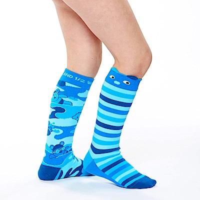 WHY AND 1/2 普普熊迷彩長筒襪
