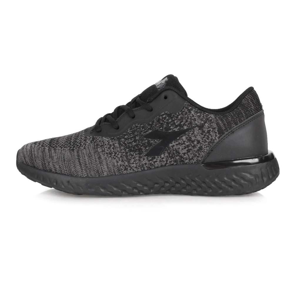 DIADORA 男 專業輕量慢跑鞋-寬楦 麻花黑灰