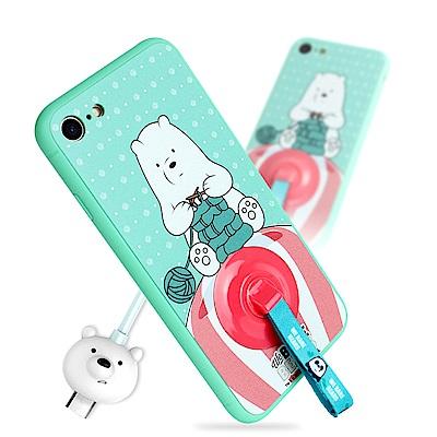 iStyle iPhone 7/8 4.7 熊熊遇見你阿極手機殼