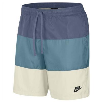 NIKE 短褲 運動 健身 休閒 籃球褲  藍白 CJ4488491 AS W NK DRY TANK YOGA 2 SOFT W