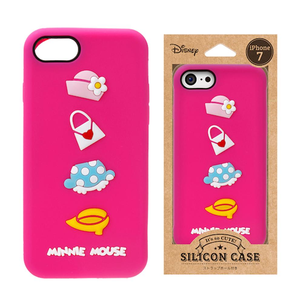 iPhone 8/7 迪士尼 正版授權 可愛/矽膠 手機軟殼 4.7吋-米妮