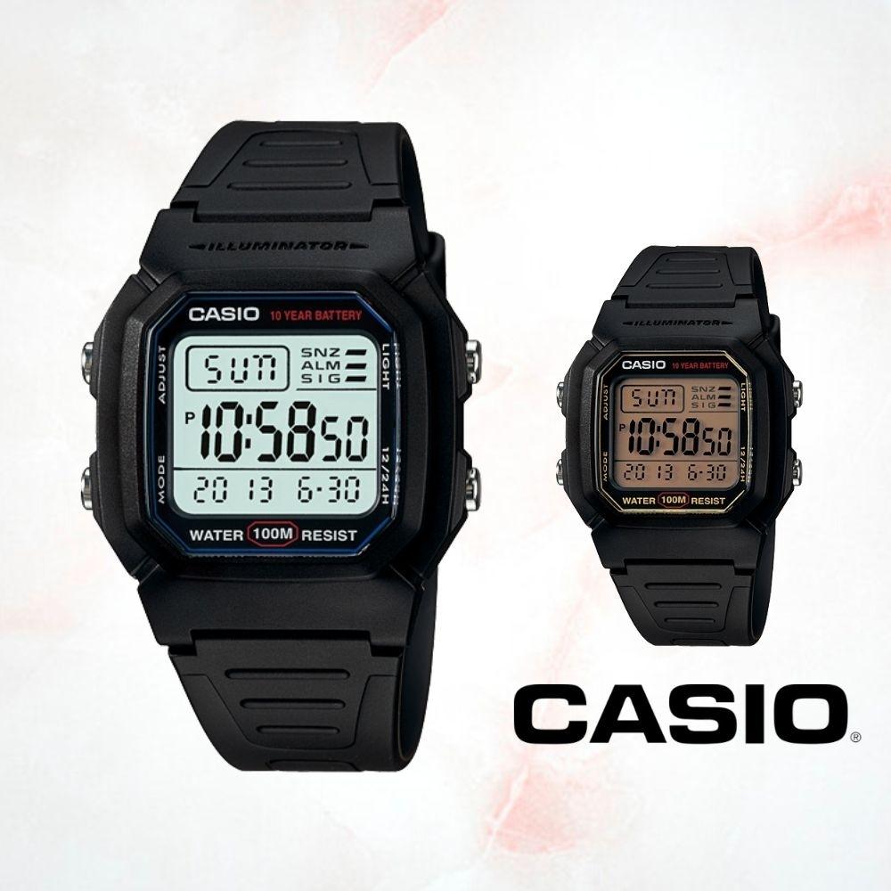 CASIO卡西歐 經典電子數字腕錶(W-800H)