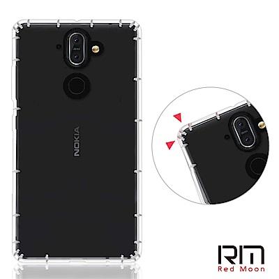 RedMoon Nokia 9 / Nokia 8 Sirocco 防摔透明TPU手機軟殼