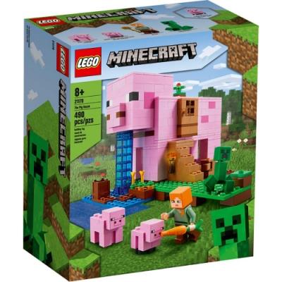 樂高LEGO Minecraft系列 - LT21170 豬小屋