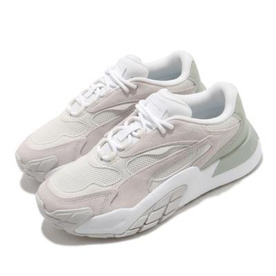 Puma 休閒鞋 Hedra Minimal 女鞋 基本款 簡約 舒適 球鞋 穿搭 灰 綠 37511903
