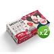 善存 醫用口罩(未滅菌)(雙鋼印)-成人平面 牛年到x13入+紅包來13入(2款共26入/盒)x2盒 product thumbnail 1