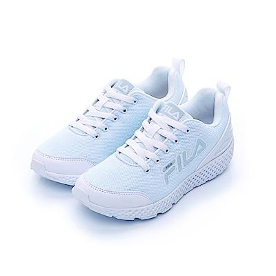 FILA 中性輕量慢跑鞋-白色 4-J026T-111