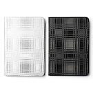 ZENUS Apple iPad Mini2&3 金屬格紋 書本式皮套