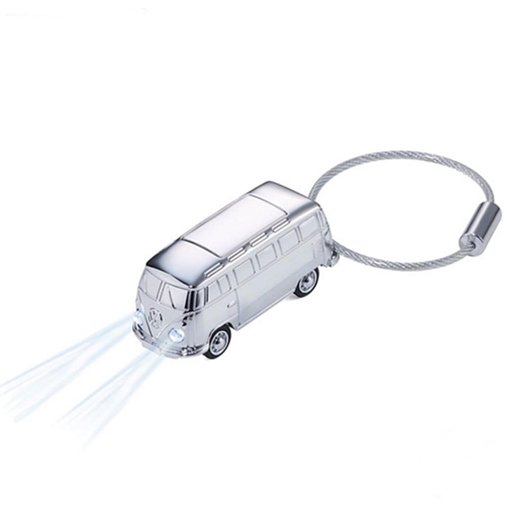 德國TROIKA福斯麵包車鑰匙圈KR17-40-CH麵包車吊飾LED手電筒
