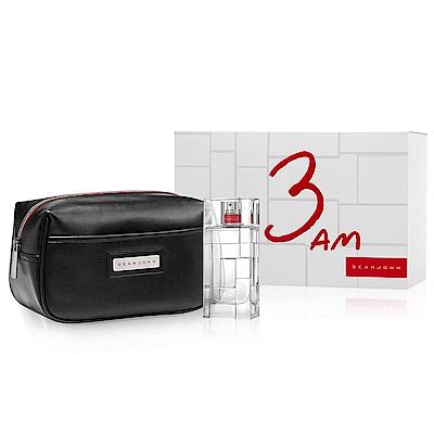 Sean John 3AM吹牛老爹夜幕迷城男性淡香水禮盒(香水100ml+盥洗包)