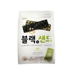 韓味不二【韓國原裝】海苔脆片(玄米口味) (20g)