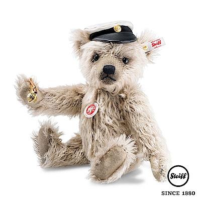 STEIFF德國金耳釦泰迪熊 泰迪熊船長 Captain Keith(限量版)