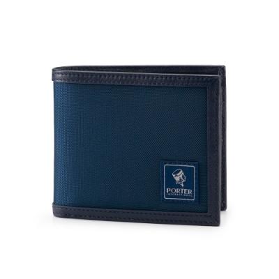 PORTER - 個性獨特FRINGE多夾層皮夾 - 深藍