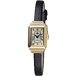 玫瑰錶Rosemont骨董風玫瑰系列時尚腕錶(TRS 36-01-BK)