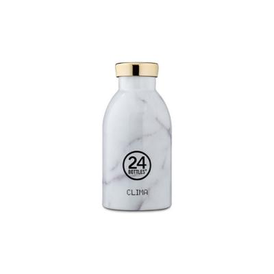 義大利 24Bottles 不鏽鋼雙層保溫瓶 330ml - 義大利大理石