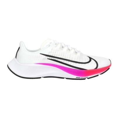NIKE WMNS AIR ZOOM PEGASUS 37 女慢跑鞋-路跑 飛馬 BQ9647103 白黑粉紫藍