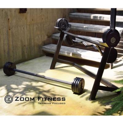 【Zoom Fitness】可調式槓鈴(80LB)