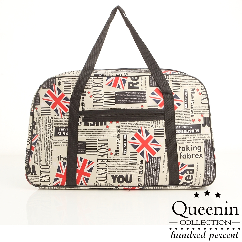 DF Queenin - 出國馬上走!超輕超大容量旅行袋可掛行李桿-共6色 product image 1