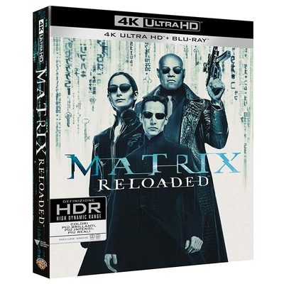 駭客任務:重裝上陣 UHD+BD+Bonus 三碟限定版
