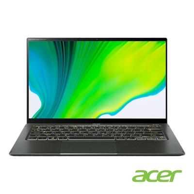 Acer SF514-55GT-7030 14吋筆電(i7-1165G7/MX350/16G/512G SSD/Swift 5/綠) win11
