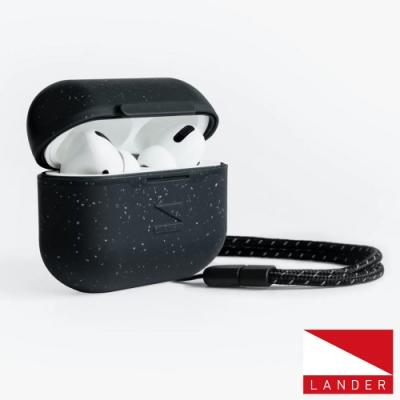 美國 Lander AirPods Pro Arete 防水防摔保護殼附手繩 - 星空黑
