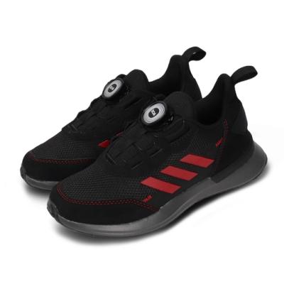 adidas 慢跑鞋 RapidaRun Boa 運動 童鞋