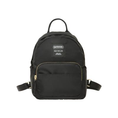 【OUTDOOR】輕遊系-後背包S-黑色 OD211101BK