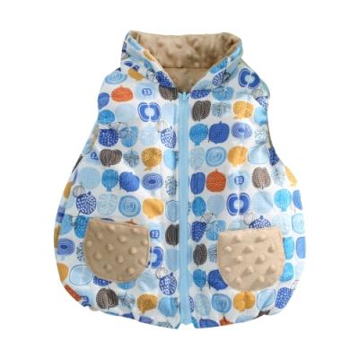 嬰幼兒台灣製鋪棉背心外套 b0213 魔法Baby
