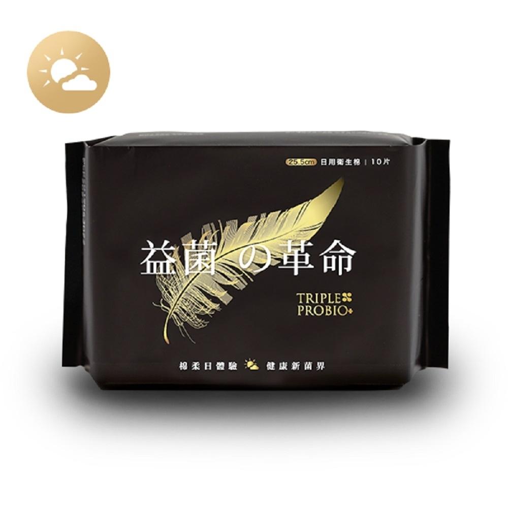 益菌革命  益菌輕柔日用衛生棉(10片/包)