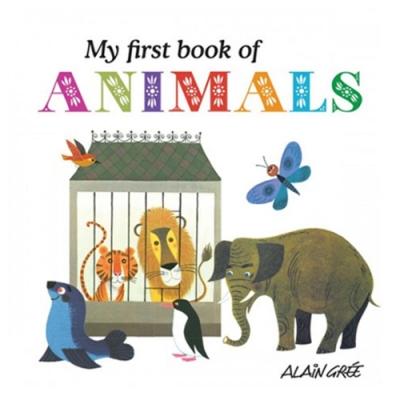 My First Book Of Animals 我的第一本動物夥伴書