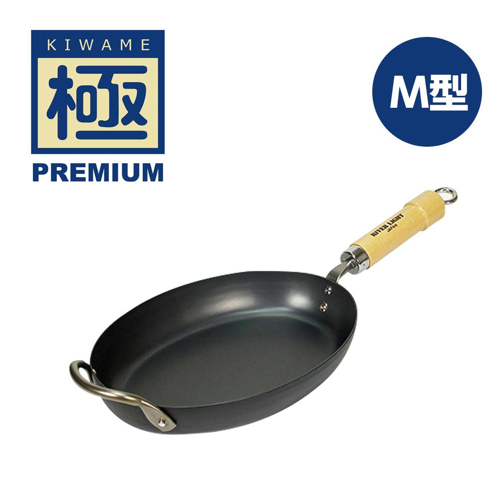 極PREMIUM 不易生鏽牛排專用鍋 M型(日本製造無塗層)