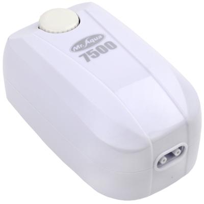 《Mr.Aqua》雙孔7500型密閉式節能省電靜音打氣馬達(送矽膠軟管)