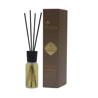 安垛小姐-泰國頂級香氛SPA divana 四經典元素室內擴香(土):黃金木瓜60 ml