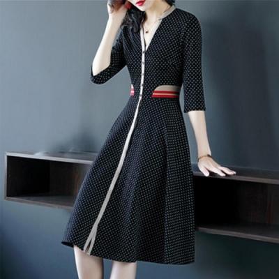 【韓國K.W.】歐美款優質展演洋裝