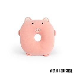 Yvonne Collection 豬豬午安枕-粉橘紅