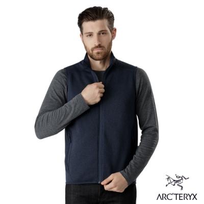 Arcteryx 始祖鳥 男 24系列 Covert 刷毛背心 途易雜藍