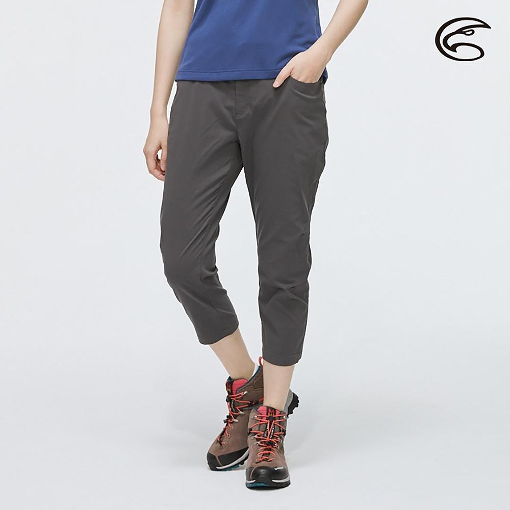 ADISI 女SUPPLEX彈性吸排修身八分褲AP2011026 (S-2XL) 灰色