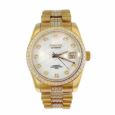 Depro Rix  騰雲金鑽真鑽機械腕錶DR02100