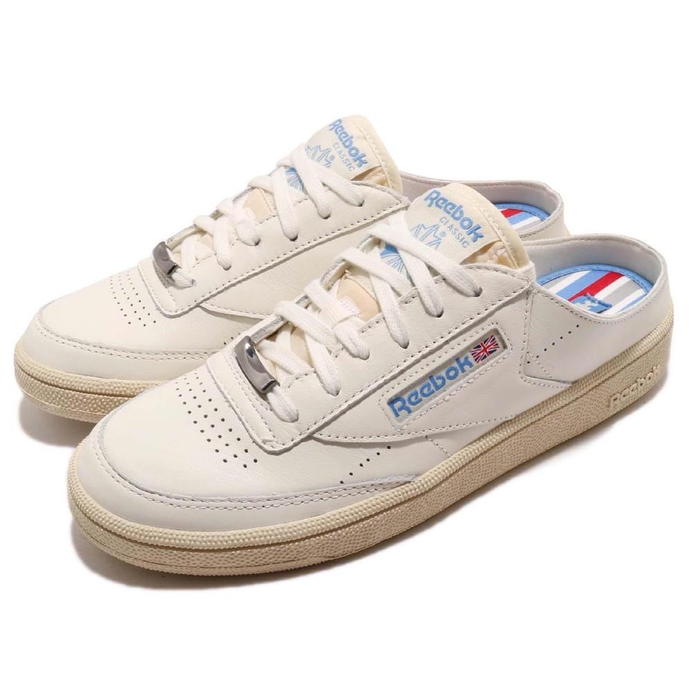 Reebok 休閒鞋Club C 85 Mule 女鞋  休閒