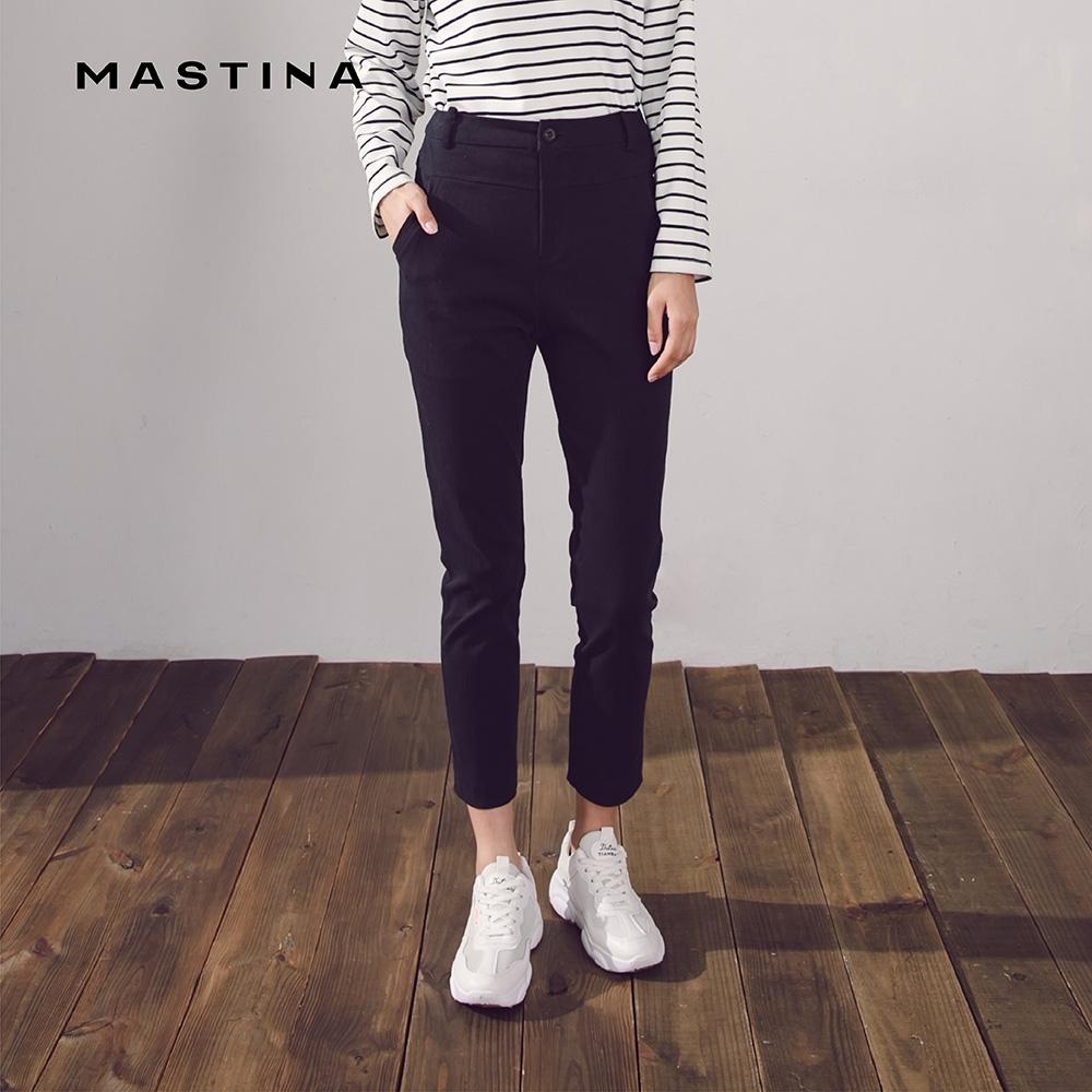 【MASTINA】上班族系列窄管-長褲(二色)