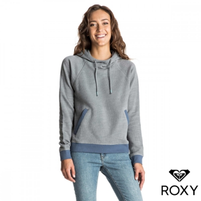 【ROXY】YOUNG DREAMER HERITAGE 棉質帽T 淺灰
