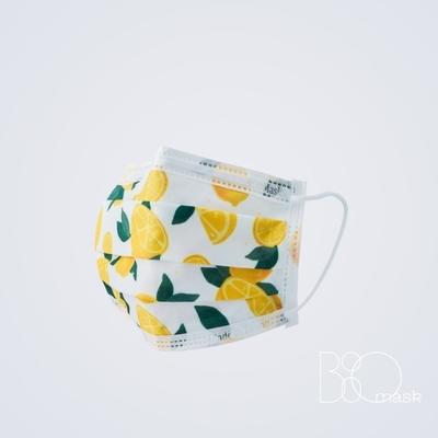 BioMask保盾 醫療口罩(未滅菌)-Bisou Bisou聯名(盛夏檸檬)-成人用(10片/盒)